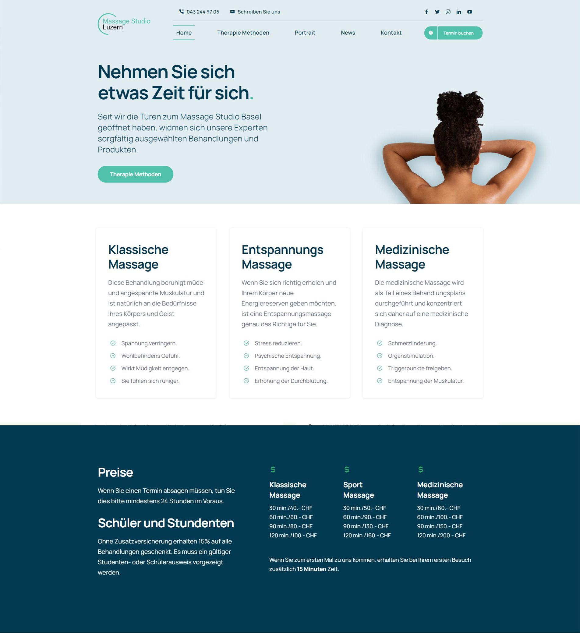 website beispiel